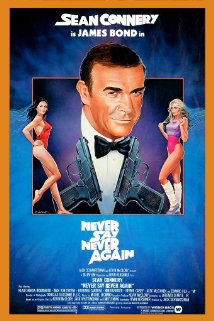 NEVER SAY NEVER AGAIN 1983, Warner Bros.