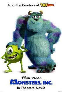 MONSTERS, INC. 2001, Pixar Animation and Walt Disney