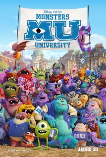 Monsters University Poster 2013